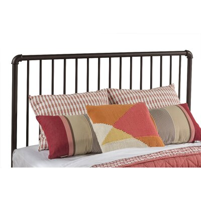Jessie Tubular Steel Slat Headboard Size: Twin