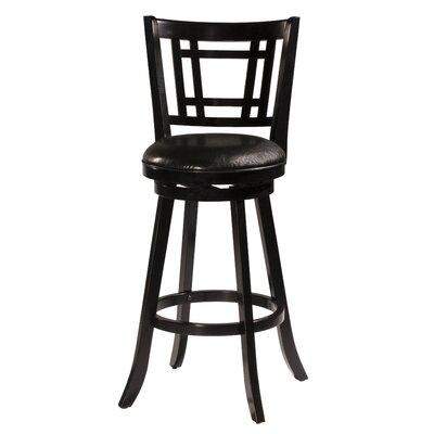 Mersin 30 Swivel Bar Stool Color: Black