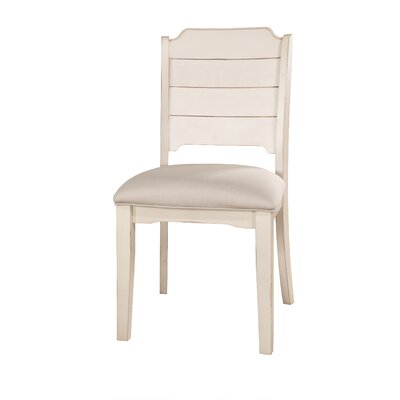 Kinsey Dining Chair Color: Sea White