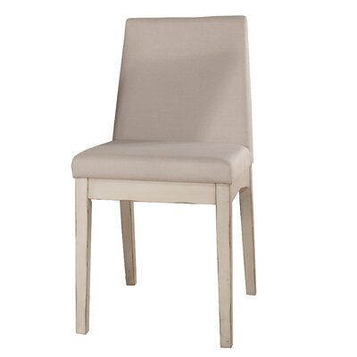 Kinsey Upholstered Dining Chair Upholstery Color: Sea White