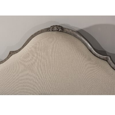 Grambling Upholstered Panel Headboard Size: King