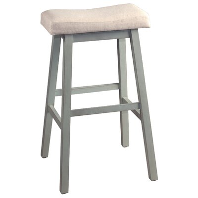 Angelique Non-Swivel Backless Counter Bar Stool