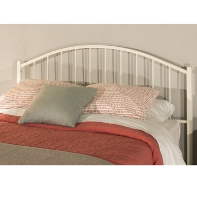 Barros Tubular Steel Slat Headboard Size: King