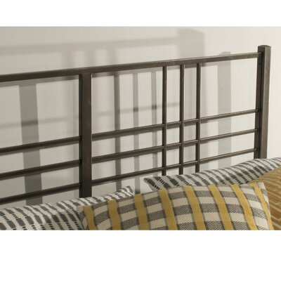 Barta Tubular Steel Open-Frame Headboard Size: King