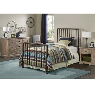 Wanger Twin Slat Bed Frame Included: Included