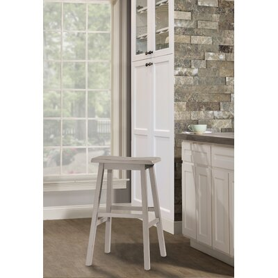 Angelique Bar Stool Color: Gray