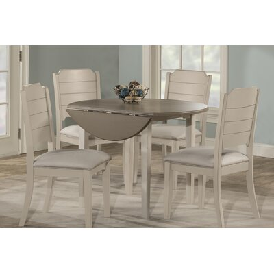 Kinsey 5 Piece Drop Leaf Dining Set