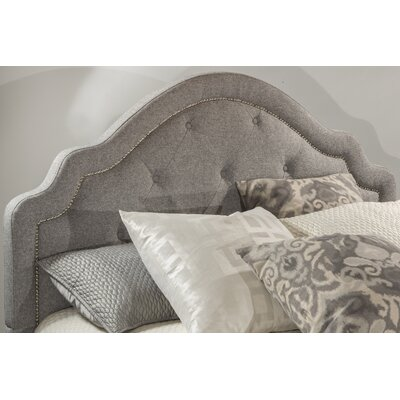 Broughtonville Upholstered Bed Color: Light Gray, Size: Queen