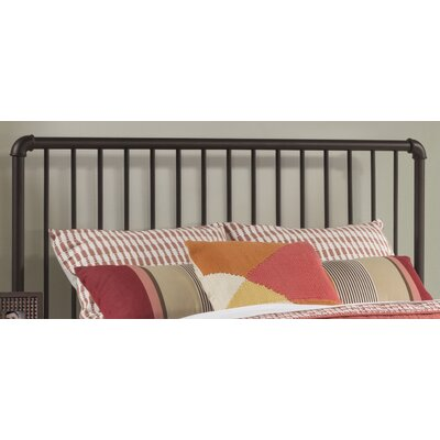 Jessie Tubular Steel Slat Headboard Size: Full