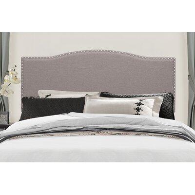 Upholstered Panel Headboard Size: Full/Queen, Upholstery: Stone