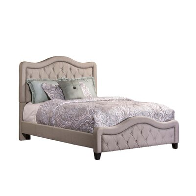 Trieste Upholstered Panel Bed Size: King