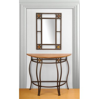 Shiflett Console Table with Mirror