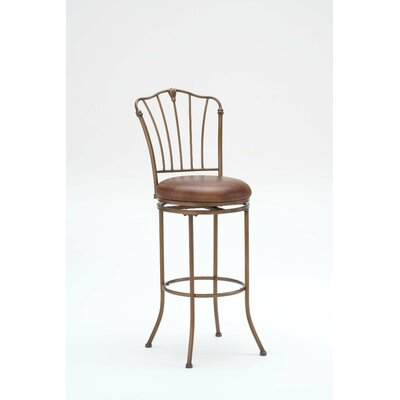 Financing for Marist Swivel Stool in Antique Rubb...