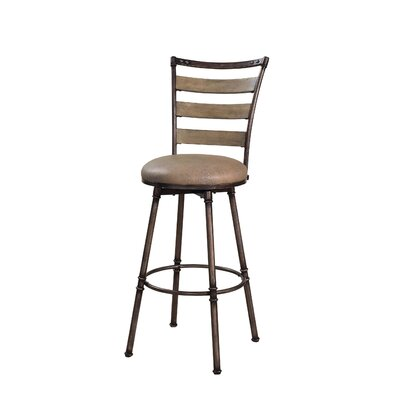 Financing Thornhill Swivel Bar Stool in Distr...