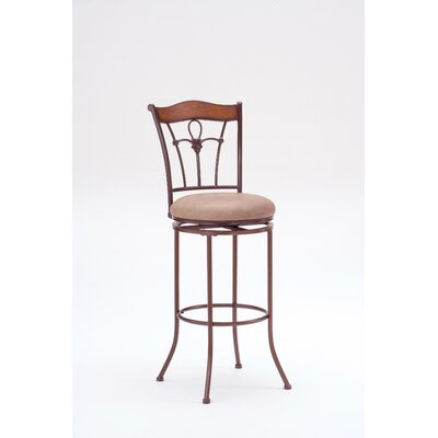 Easy financing Ryland Swivel Stool in Distressed B...