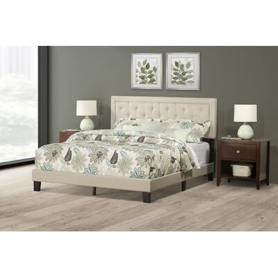 Keesler Upholstered Panel Bed Size: King