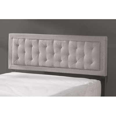 Keesler Upholstered Panel Headboard Size: Queen, Upholstery: Glacier Gray