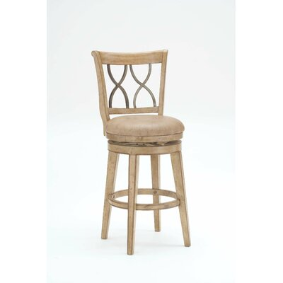 Easy financing Reydon Swivel Stool Size: Counter...