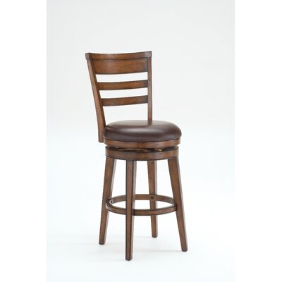 Credit for Villagio Ladder Back Swivel Stool S...