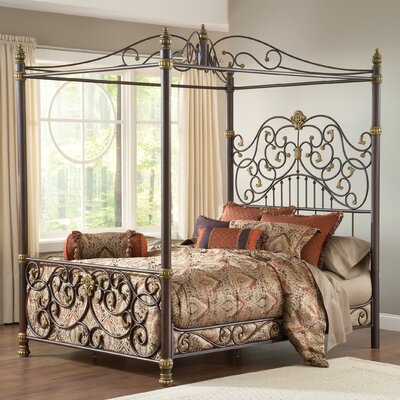 Furniture rental Stanton Canopy Bed Size: Queen...