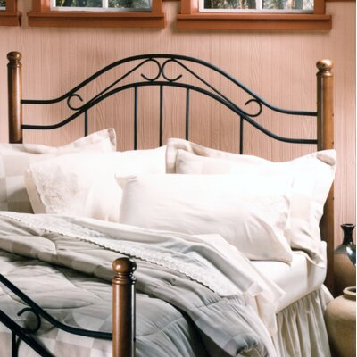 Credit for Winsloh Metal Headboard Size: King...