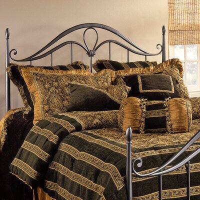 Bad credit financing Kendall Metal Headboard Size: King...