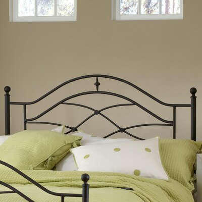 Easy furniture financing Cole Metal Headboard Size: Twin...