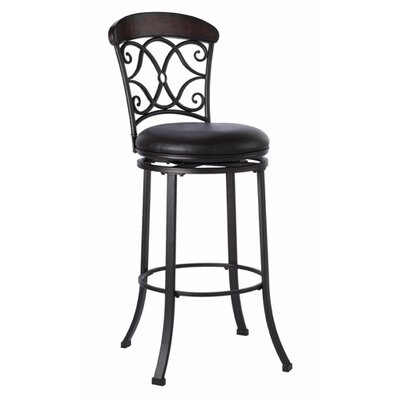 Trevelian 26 Swivel Bar Stool with Cushion