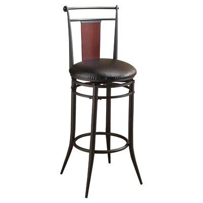 Midtown 24.5 Swivel Bar Stool with Cushion