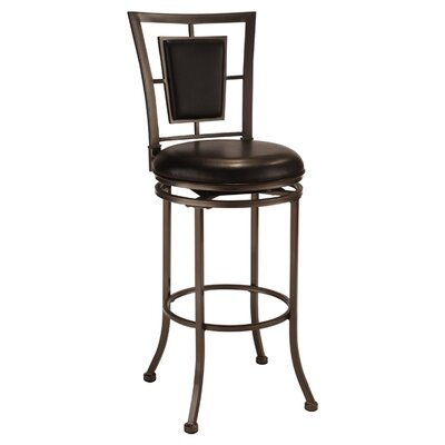 Auckland 24 Swivel Bar Stool with Cushion