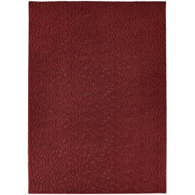 Edith Chili Red Rug Rug Size: Rectangle 6 x 9