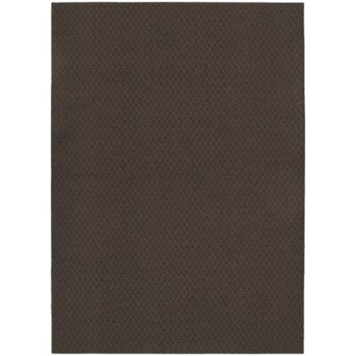 Chocolate Town Square Indoor/Outdoor Area Rug Rug Size: 76 x 96