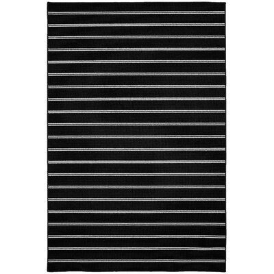 Avery Black Area Rug