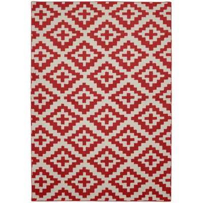 Southwest Chili/Ivory Area Rug
