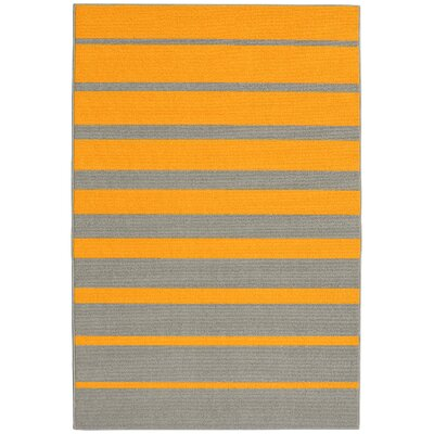 Stair Steps Gold/Silver Area Rug