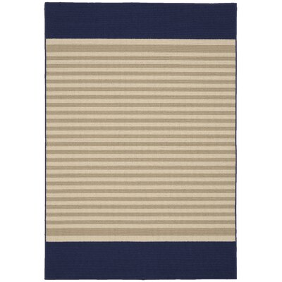 Sideline Navy/Tan Area Rug