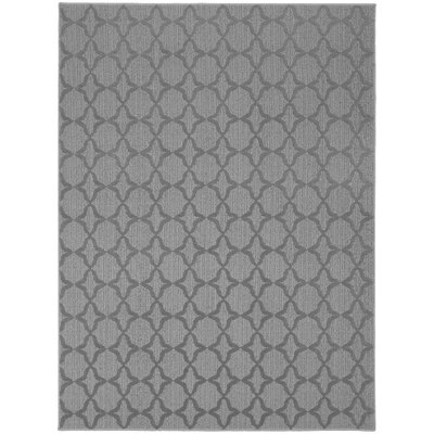 Southington Gray Area Rug Rug Size: 5 x 7
