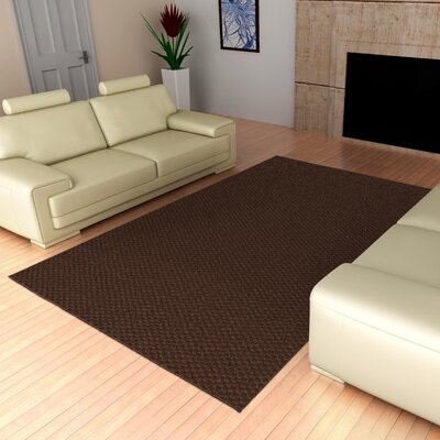 Esther Chocolate Rug Rug Size: 12 x 18