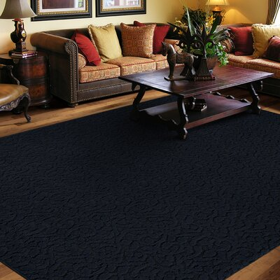 Edith Navy Rug Rug Size: Square 12