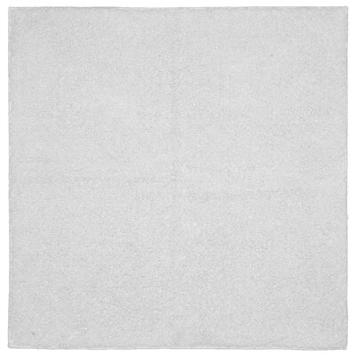 Roanoke Cotton Area Rug Size: 24x24, Color: White