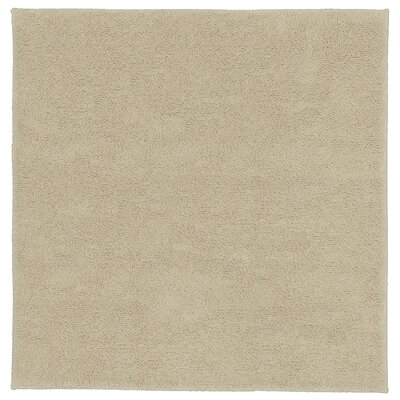 Roanoke Cotton Area Rug Size: 24x24, Color: Natural