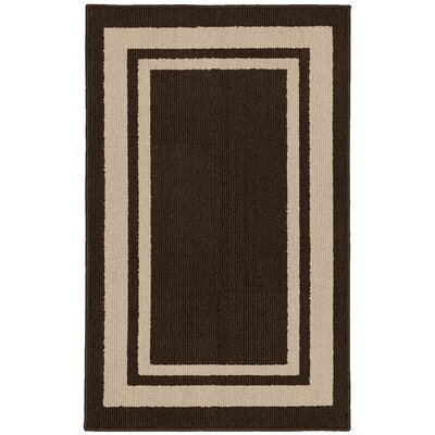 Ginger Brown/Beige Indoor/Outdoor Area Rug Rug Size: 2 x 33