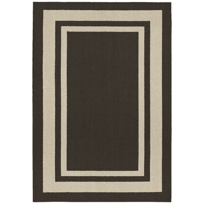 Ginger Brown/Beige Indoor/Outdoor Area Rug Rug Size: 2 x 5