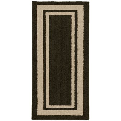 Ginger Brown/Beige Indoor/Outdoor Area Rug Rug Size: 5 x 7