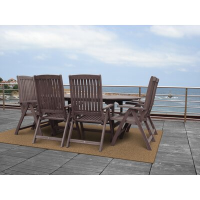 Omorphita Tan Indoor/Outdoor Area Rug Rug Size: 6 x 9