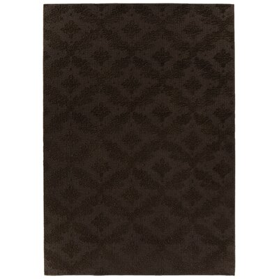 Spafford Brown Area Rug Rug Size: Rectangle 9 x 12
