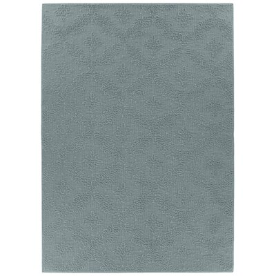 Spafford Blue Area Rug Rug Size: Rectangle 12 x 18