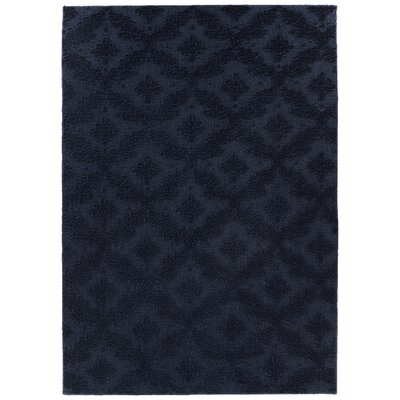 Spafford Blue Area Rug Rug Size: Rectangle 6 x 9