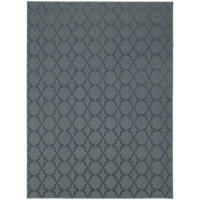 Southington Blue Area Rug Rug Size: Square 12