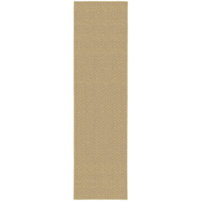 Esther Tan Area Rug Rug Size: 2 x 8